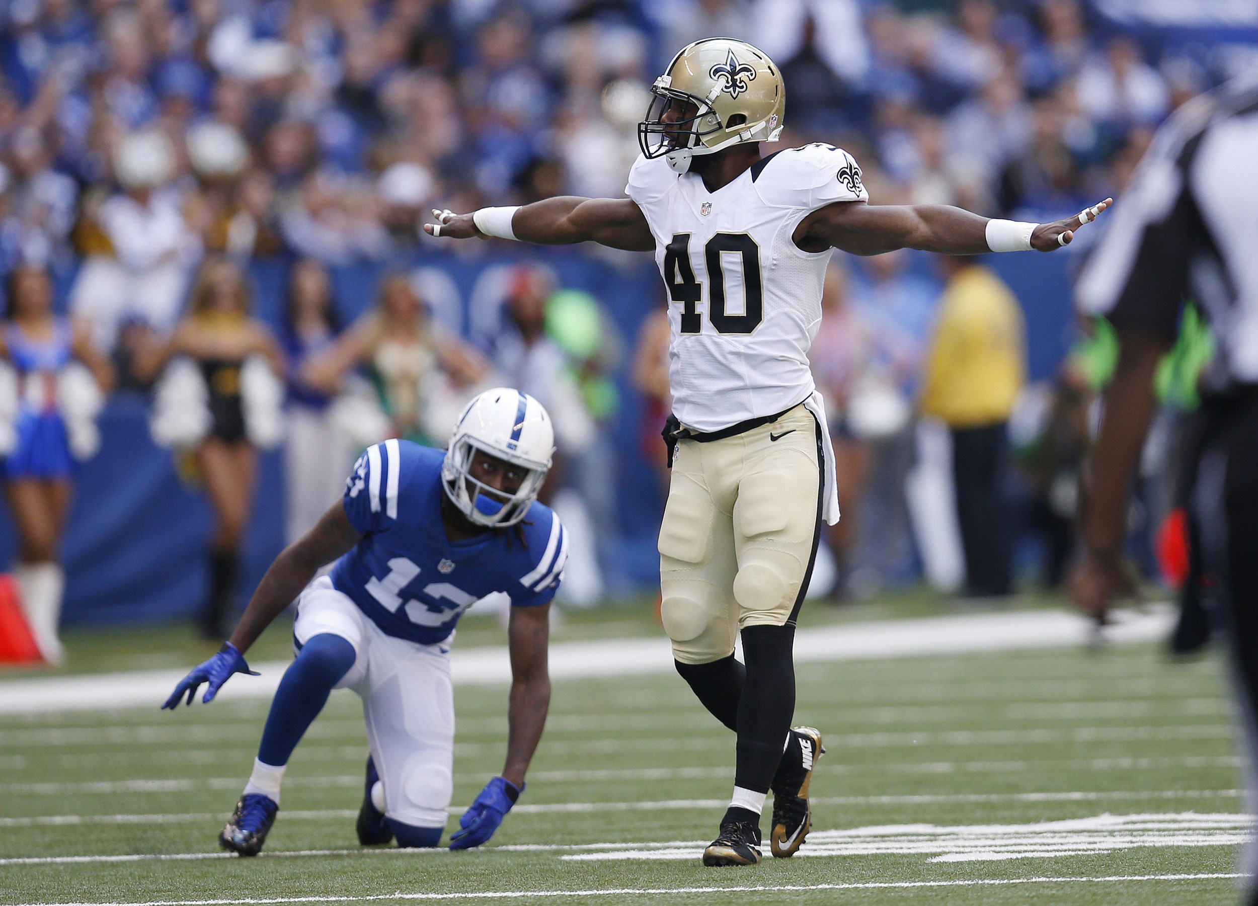 Saints CB Delvin Breaux Feels Good Ready To Return To Practice